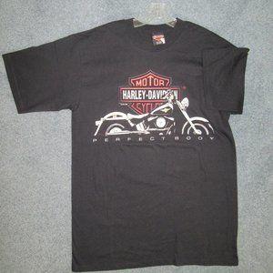 CABO SAN LUCAS HARLEY-DAVIDSON Black T-Shirt, Sz L